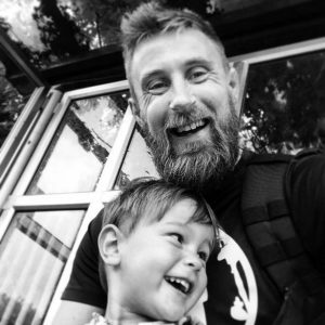 dad lost his three- year- old son