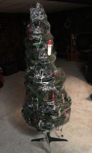 lazy Christmas decorations